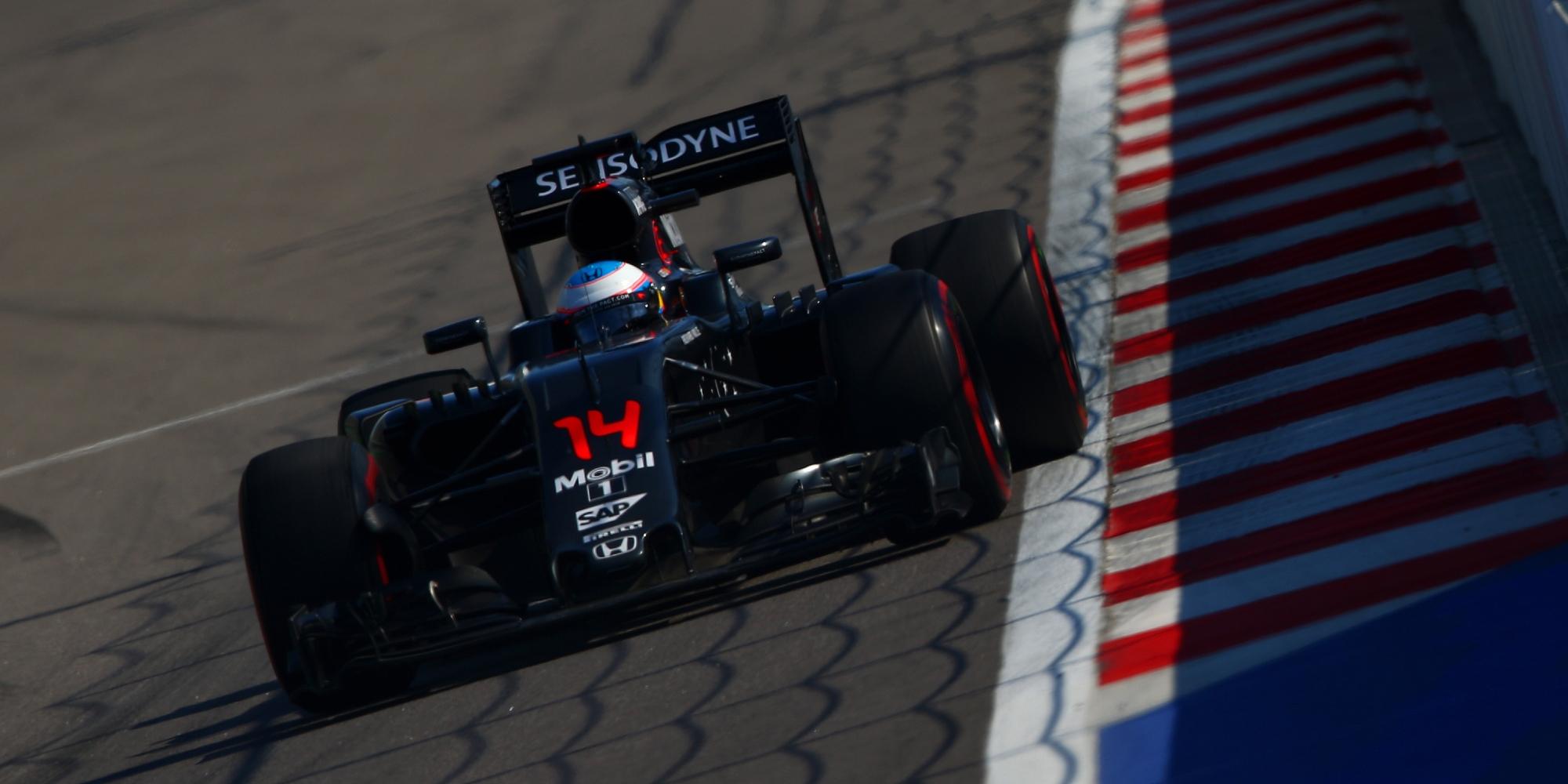 Fernando Alonso, 2016 Russian Grand Prix