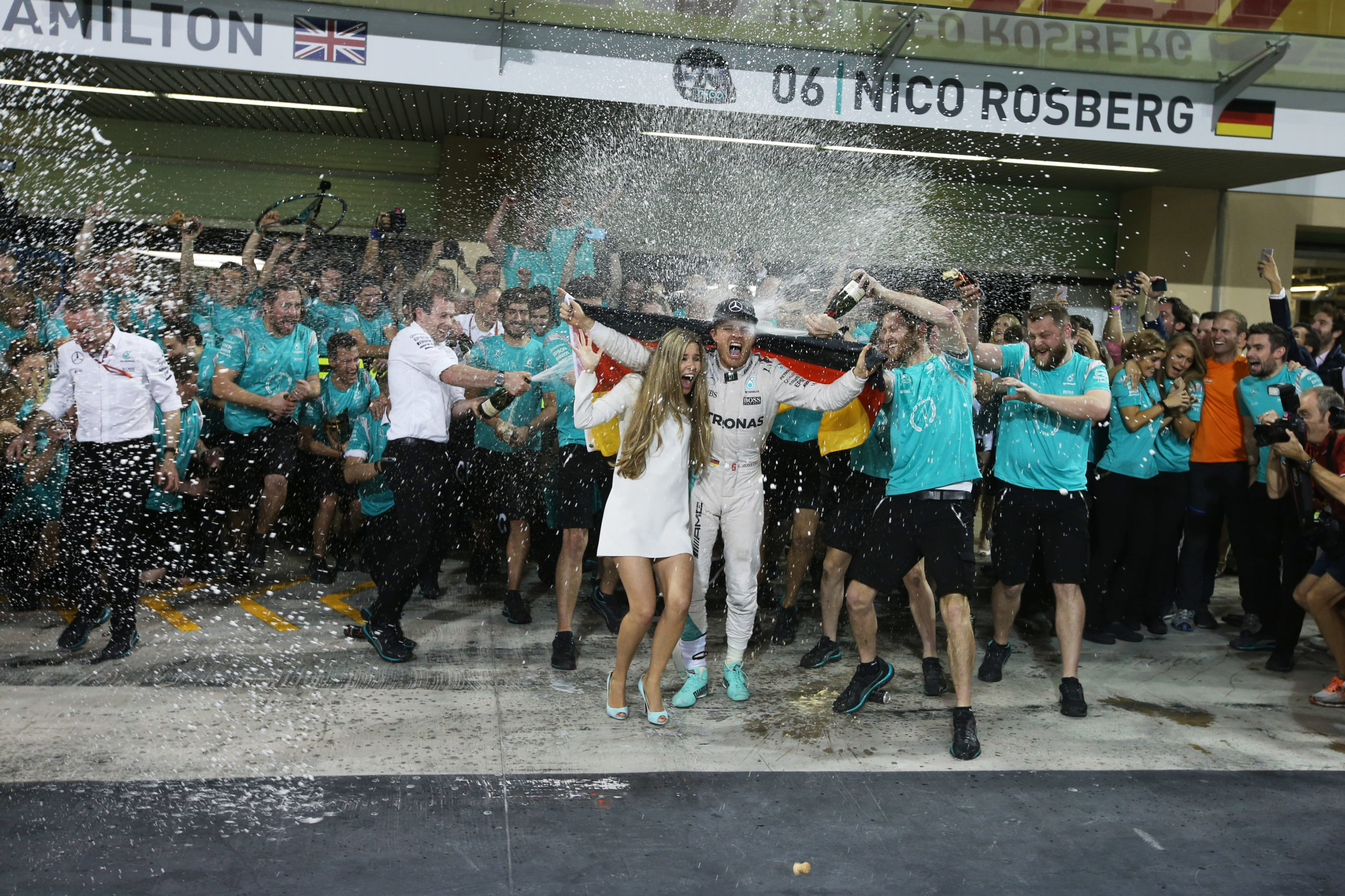 Nico Rosberg retires: statement in full