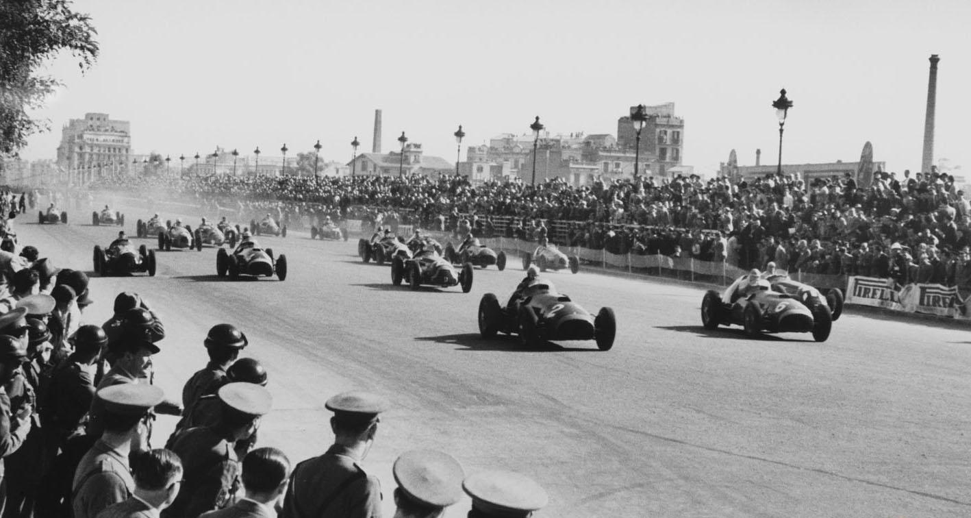 Alfa Romeo's full F1 circle