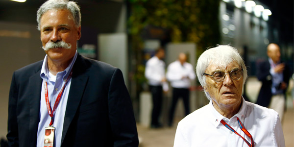 Where does Bernie fit into F1's new order?