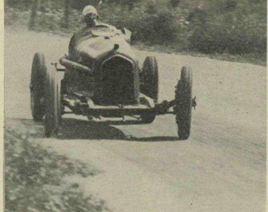 The secret to Nuvolari's speed
