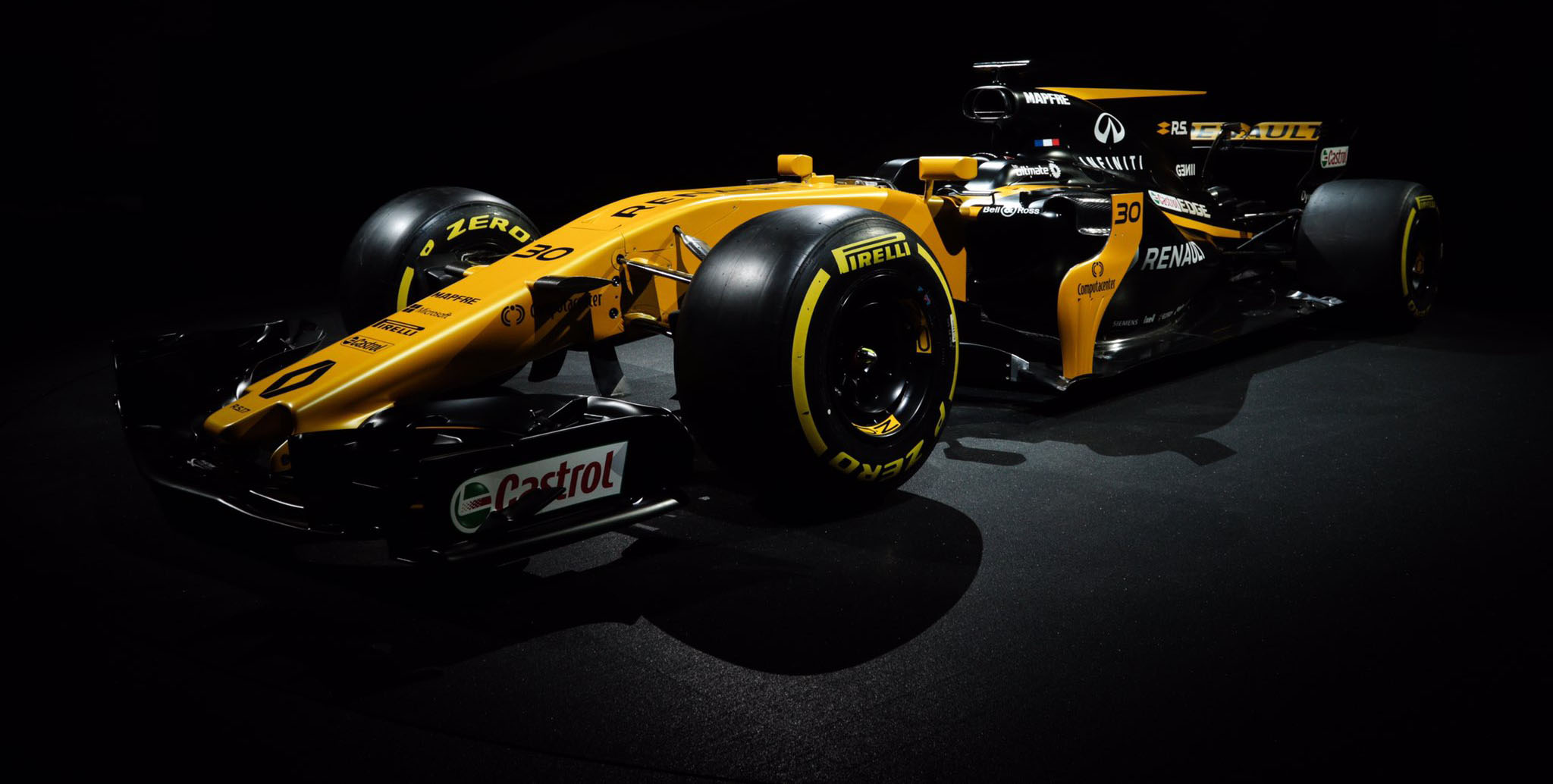 The cars of F1 2017