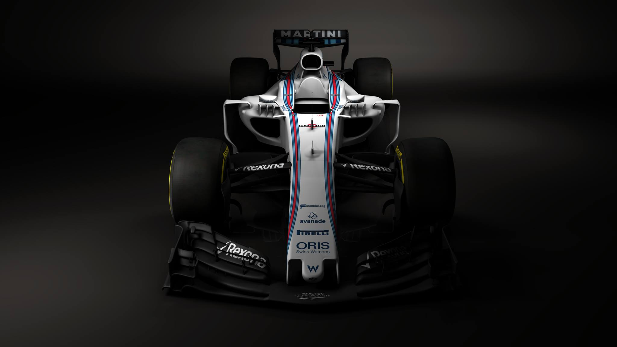 Williams shows first 2017 F1 car