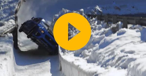 Mark Higgins tackles the St Moritz bobsled