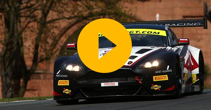 British GT live from Oulton Park