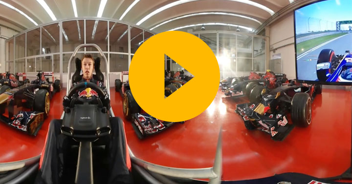 Ocon and Kvyat talk you through a lap of the Chinese Grand Prix