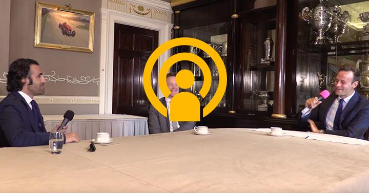 Dario Franchitti: Royal Automobile Club Talk Show in association with Motor Sport