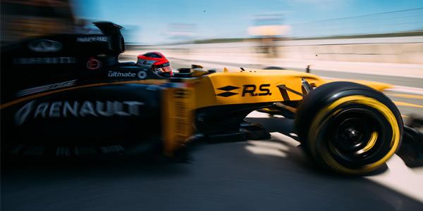 Gallery: Kubica's Renault test