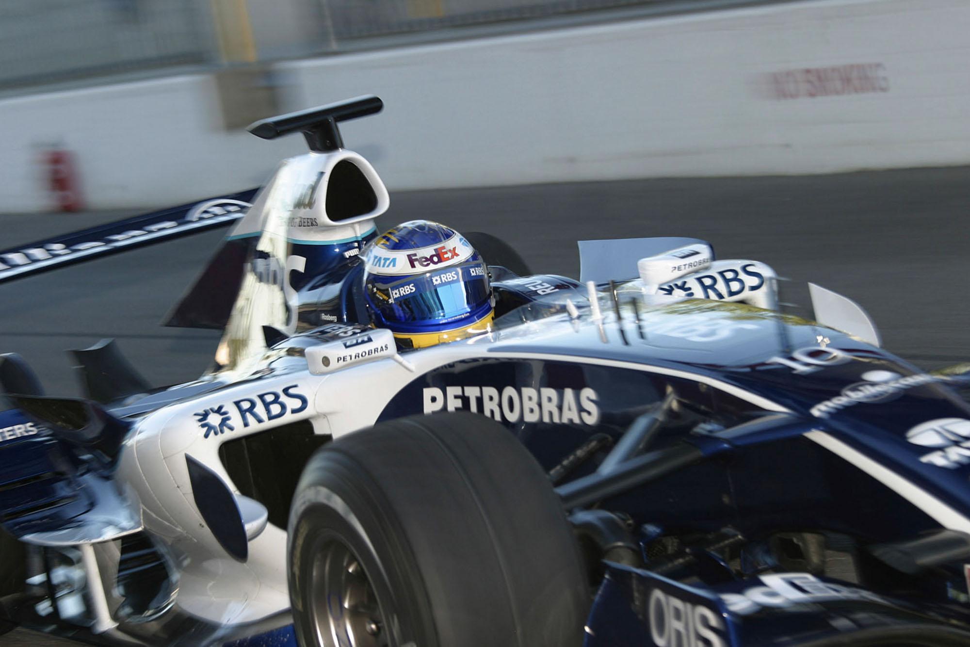 Nico Rosberg Williams 2006 Bahrain Grand Prix