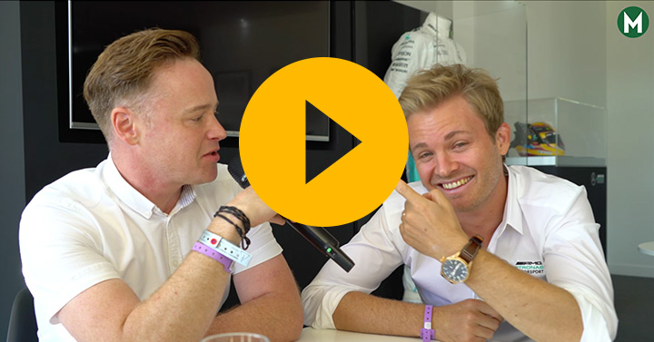 Nico Rosberg podcast, in association with Mercedes-Benz