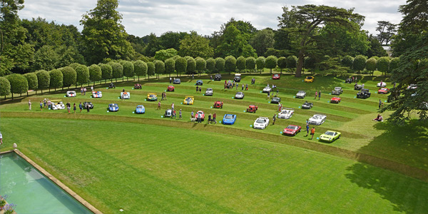 Heveningham Hall Concours d'Elegance winners in photos
