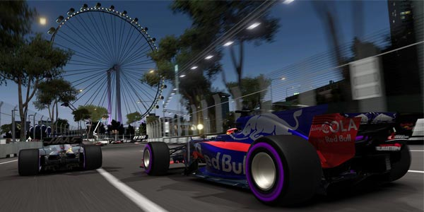 F1 opens esports competition