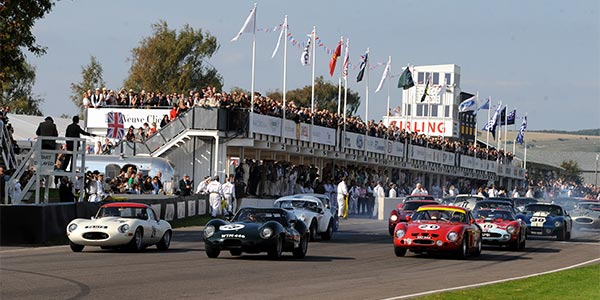 Strong entry confirmed for Goodwood Revival
