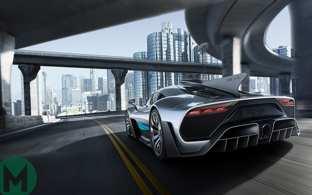 Mercedes unveils F1-inspired hypercar