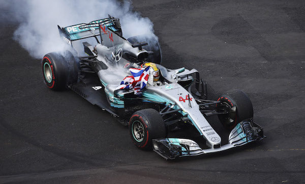 Hamilton's season: in his own words