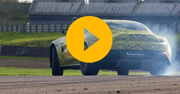Watch: Max Verstappen drives the new Vantage