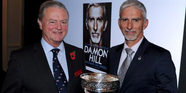 Damon Hill's Watching the Wheels wins 'Book of the Year'
