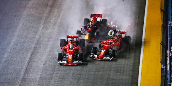 F1 2017's worst behaved
