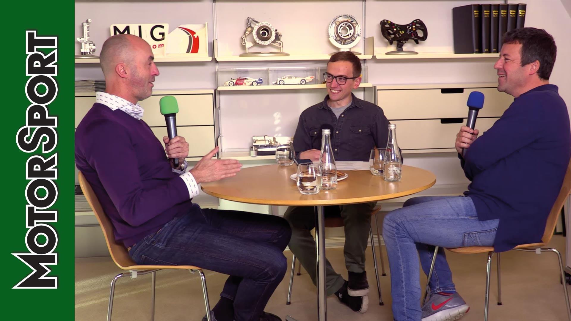 David Brabham podcast, in association with Mercedes-Benz