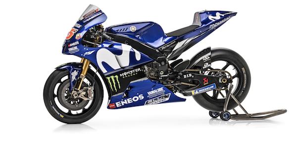 Yamaha reveals new MotoGP bike