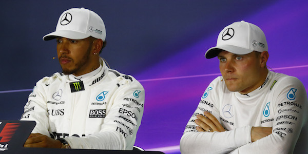 How did Bottas stack up against Hamilton in F1 2017?