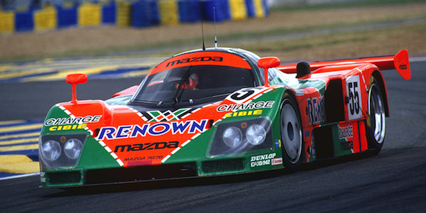 Watch the Mazda 787B tear through Le Mans