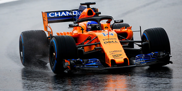 Alonso braves snow to top F1 test day three