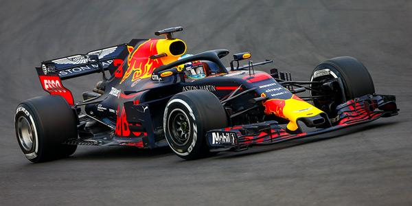 Ricciardo tops first session of 2018
