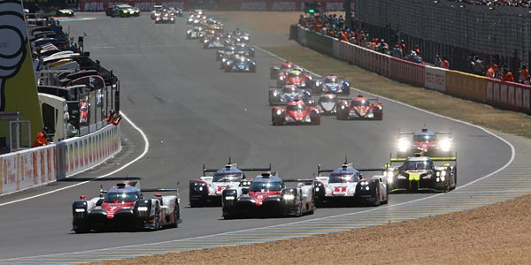 2018 World Endurance Championship and Le Mans entries confirmed