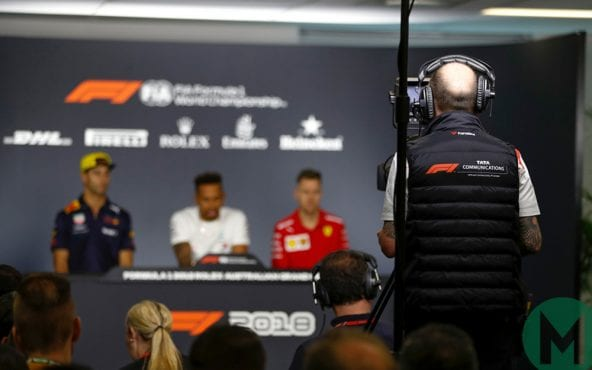 F1 confirms Netflix series