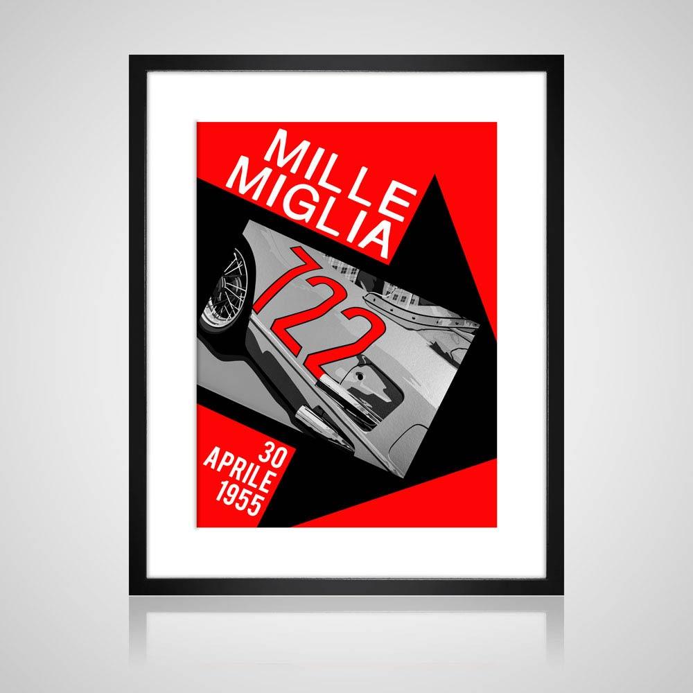 Mille Miglia '722' print