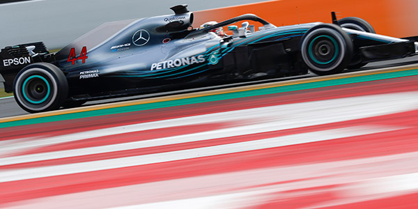 Lewis Hamilton fastest on final day of first F1 test