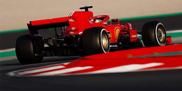 Ferrari leads day three of F1 test