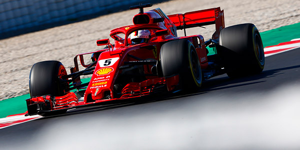 Ferrari tops opening morning of second F1 test