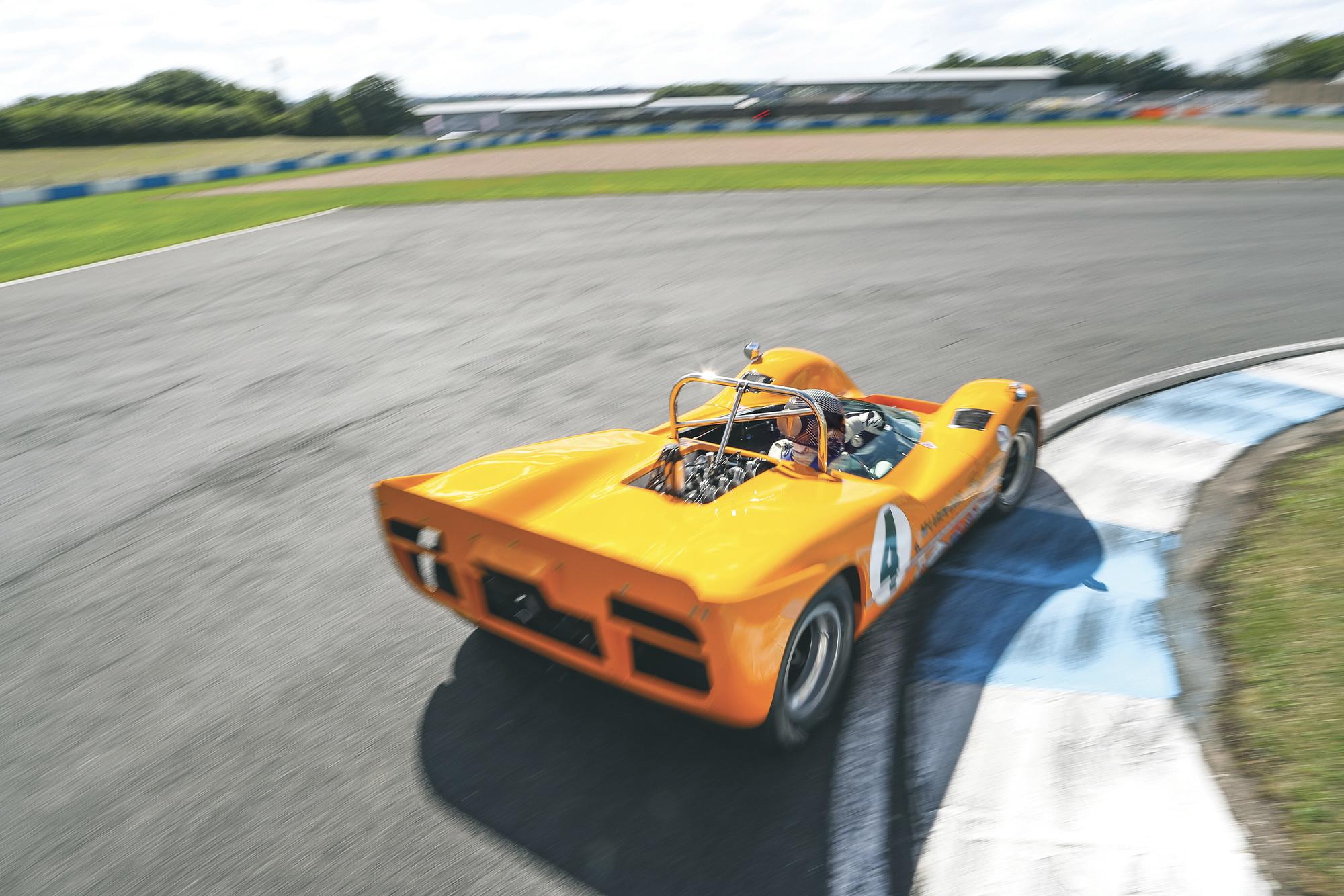McLaren M6A rear