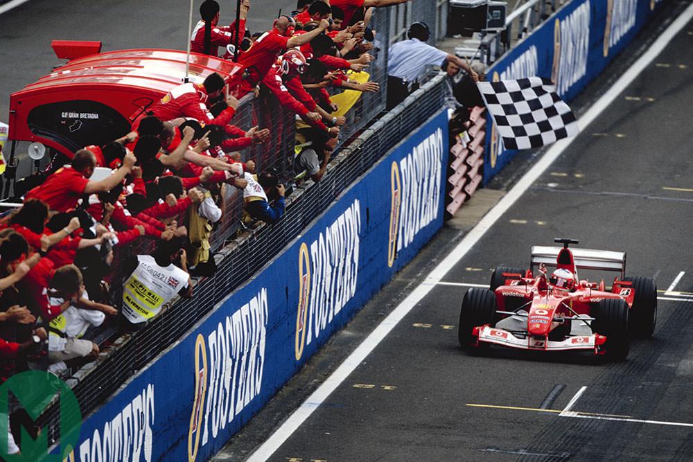 2003 British GP: Barrichello's quirky F1 double