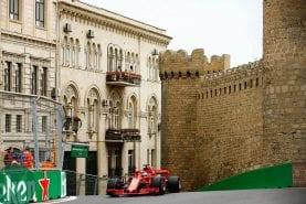 Ferrari fastest in Azerbaijan F1 FP3