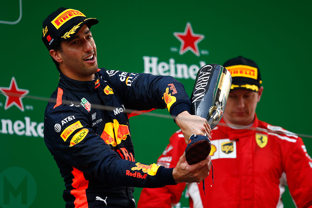 Ricciardo's itchy feet and Ferrari