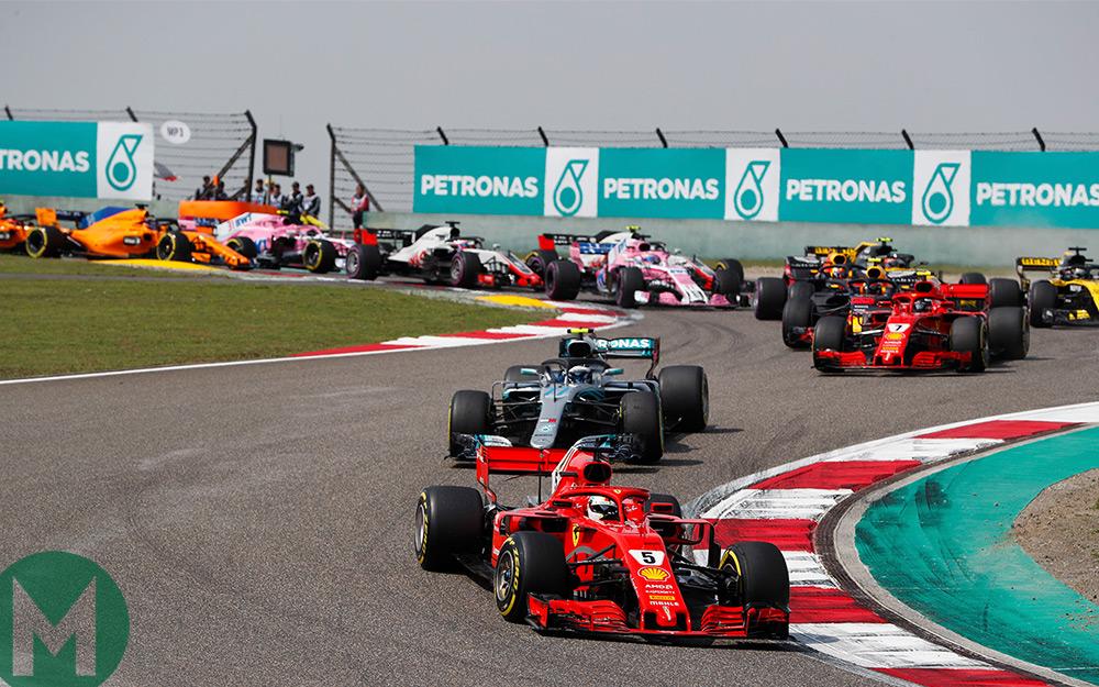 Ricciardo wins Chinese F1 Grand Prix, Vettel 8th