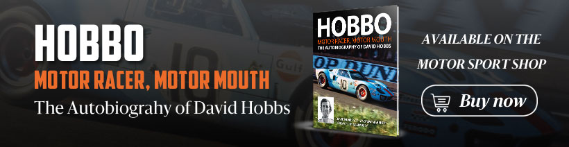 David Hobbs: Royal Automobile Club Talk Show in association with Motor Sport