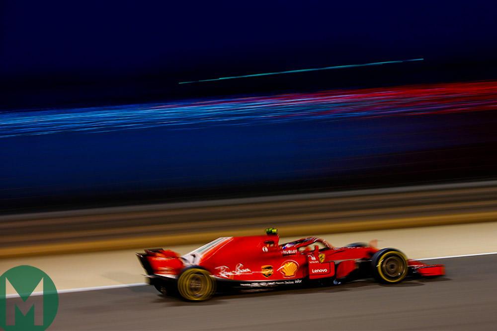 Ferrari leads second Bahrain F1 practice