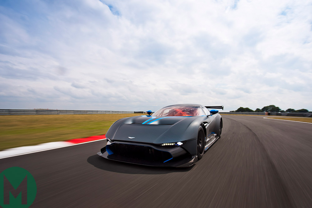 Aston Martin Vulcans to support Le Mans