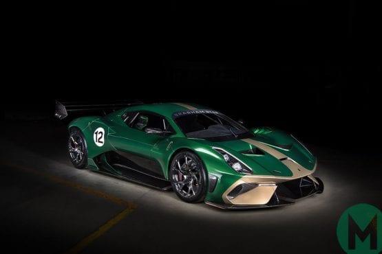 Brabham launches BT62 hypercar
