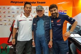 The grandfathers of Márquez's RC213V