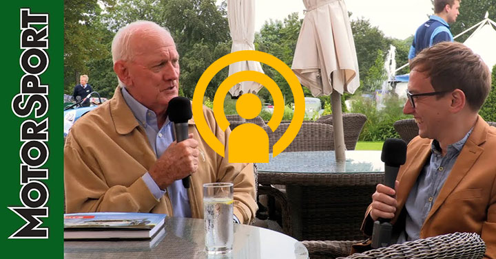 John Fitzpatrick podcast, in association with Mercedes-Benz