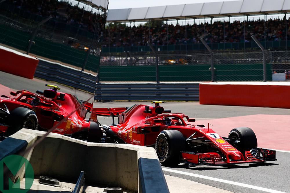 MPH: Ferrari gains ground on Mercedes at Silverstone