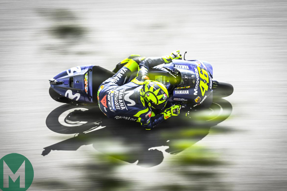 Rossi's solemn Silverstone mission