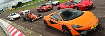 Motor Sport's track day at Thruxton with Tiff Needell