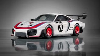 Porsche launches 935-inspired track car