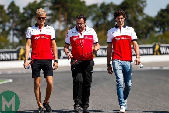 Giovinazzi to replace Ericsson at Sauber in 2019